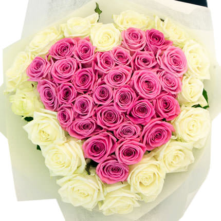 "Romantic bouquet ""My heart"" - order with delivery"