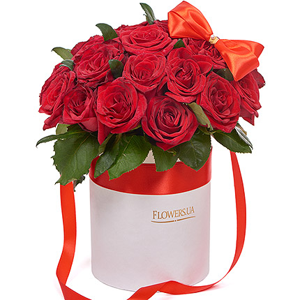 "Flowers in a box ""I Love You"" - order with delivery"