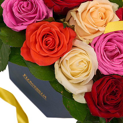 "Flowers in a box ""Summer exclusive"" - delivery in Ukraine"