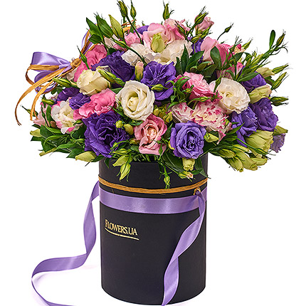 "Flowers in a box ""Unearthly beauty"" - order with delivery"
