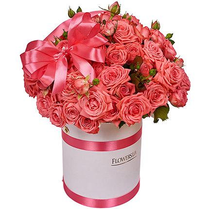 """Квіти в коробці """"Закоханість"""" - замовити з доставкою"""