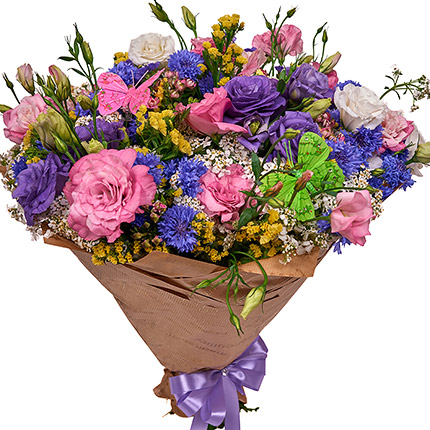 "Summer bouquet ""Coquette"" - order with delivery"