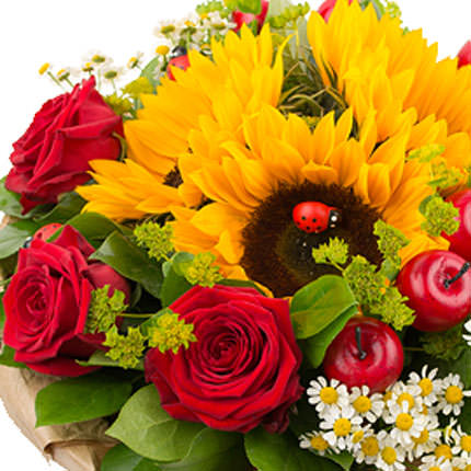 "Bouquet ""Summer sumptuousness"" - delivery in Ukraine"
