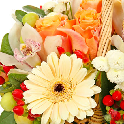 """Basket """"Wonderfull Garden"""" - delivery in Ukraine"""