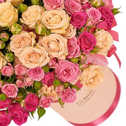 """Цветы в коробке """"Для моей милой!"""" - доставка по Украине"""