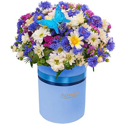 """Цветы в коробке """"Симпатяжка!"""" - заказать с доставкой"""