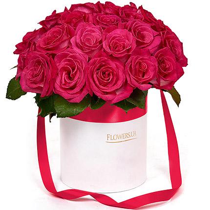 """Цветы в коробке """"Гламур!"""" - заказать с доставкой"""