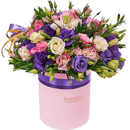 """Цветы в коробке """"Неземная красота!"""" - заказать с доставкой"""