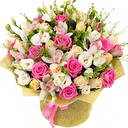 """Bouquet """"For beautiful lady"""" - delivery in Ukraine"""