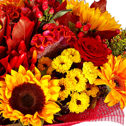"Autumn bouquet ""Luxury"" - delivery in Ukraine"