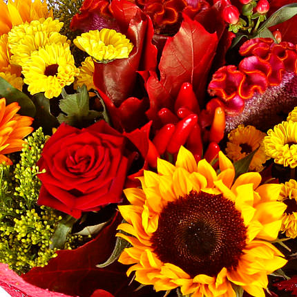 "Autumn bouquet ""Luxury"" - order with delivery"