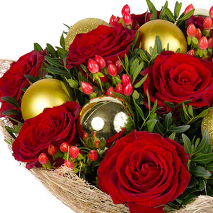"Bouquet ""Christmas Carnival"" - order with delivery"