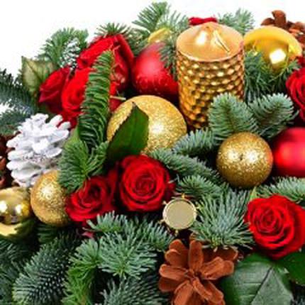 """Композиция """"Новогодняя сказка"""" - доставка по Украине"""