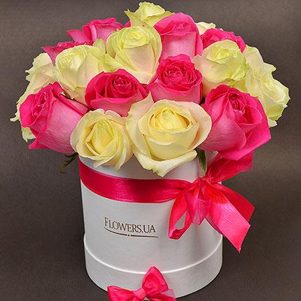 """Цветы в коробке """"Мечты принцессы!"""" - доставка по Украине"""