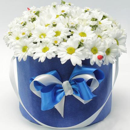 """Цветы в коробке """"Гадание на любовь"""" - доставка по Украине"""