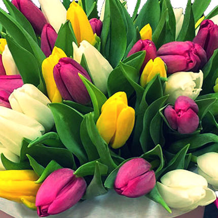 """Цветы в коробке """"Моей неповторимой"""" - доставка по Украине"""