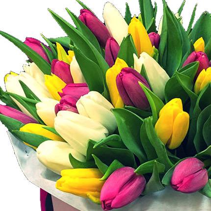 """Цветы в коробке """"Моей неповторимой"""" - заказать с доставкой"""