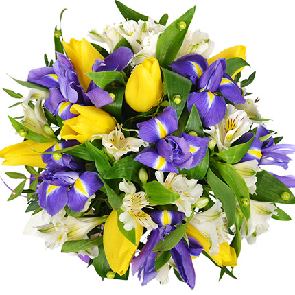 """Flowers in a box """"You are my Miracle!"""" - order with delivery"""