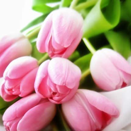 """Цветы в коробке """"Розовое облако"""" - заказать с доставкой"""