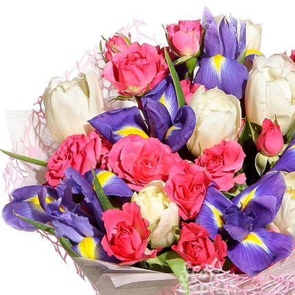 "Bouquet ""Spring drops"" - order with delivery"