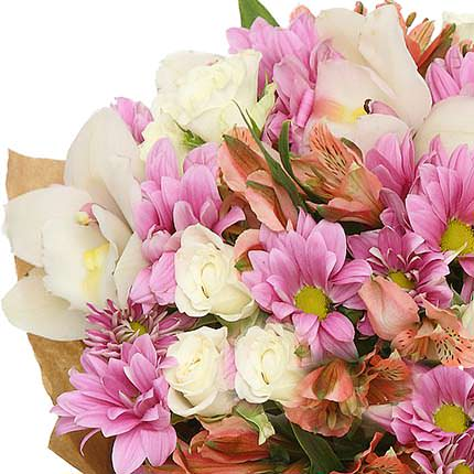 "Gentle bouquet ""Treasure"" - order with delivery"
