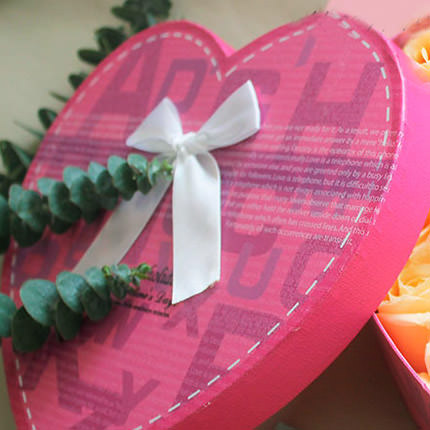 """Flowers in a box """"Heartily..."""" - order with delivery"""