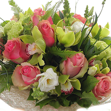 "Bouquet ""Delicate summer breeze"" - order with delivery"