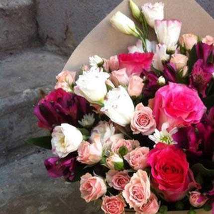 "Bouquet ""Romantic sunset"" - order with delivery"