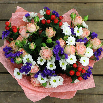 "Bouquet ""Summer mood"" - delivery in Ukraine"