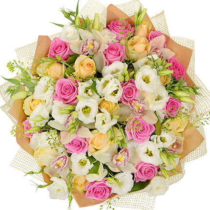 "Bouquet ""For beautiful lady!"" - order with delivery"