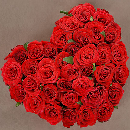 "Flowers in a box ""With Love...!"" - order with delivery"