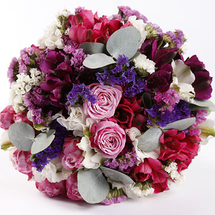 "Bridal bouquet ""Bright Wedding"" - delivery in Ukraine"