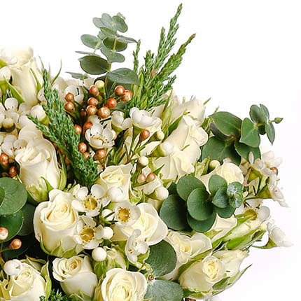 "Bridal bouquet ""Embodiment of tenderness"" - delivery in Ukraine"