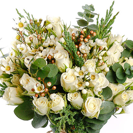 "Bridal bouquet ""Embodiment of tenderness"" - order with delivery"