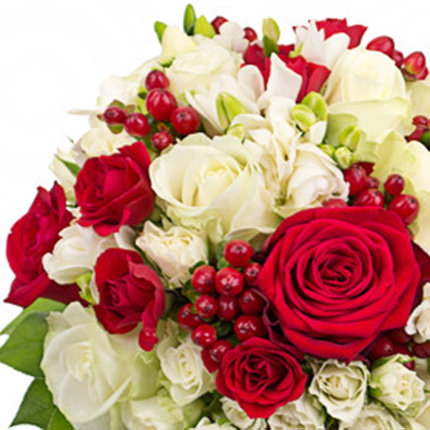 """Bridal bouquet """"Classic style"""" - order with delivery"""