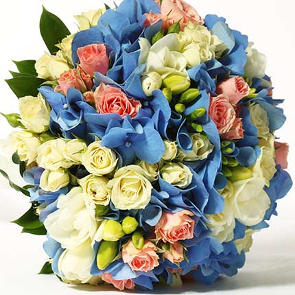 "Bridal bouquet ""Happy!"" - delivery in Ukraine"