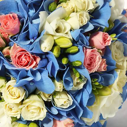 "Bridal bouquet ""Happy!"" - order with delivery"