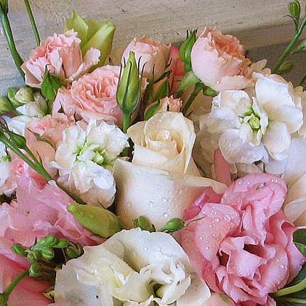 "Bridal bouquet ""Miss Elegance"" - delivery in Ukraine"