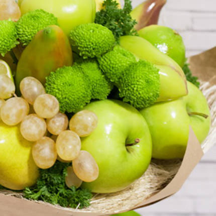 "Fruit and vegetable bouquet ""Summer freshness"" - delivery in Ukraine"