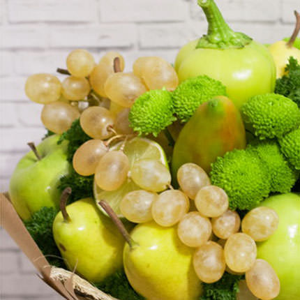 "Fruit and vegetable bouquet ""Summer freshness"" - order with delivery"