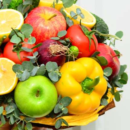 "Fruit and vegetable bouquet ""Vitamin boom!"" - delivery in Ukraine"