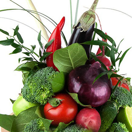 "Vegetable Bouquet ""Summer Mix"" - delivery in Ukraine"