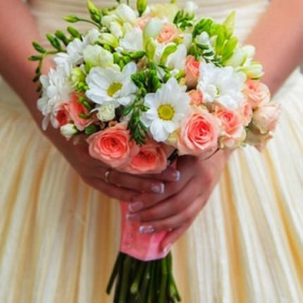 "Bridal bouquet ""My best day!"" - delivery in Ukraine"