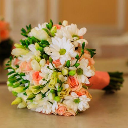 "Bridal bouquet ""My best day!"" - order with delivery"