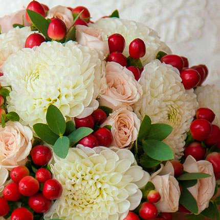 "Bridal bouquet ""Feeling of attraction"" - delivery in Ukraine"