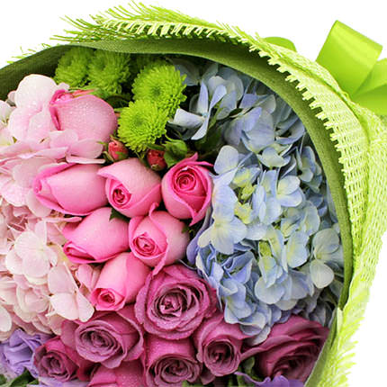"Bouquet ""Assorted of flowers"" - delivery in Ukraine"