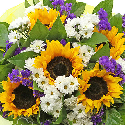 "Bright bouquet ""Sunny"" - delivery in Ukraine"