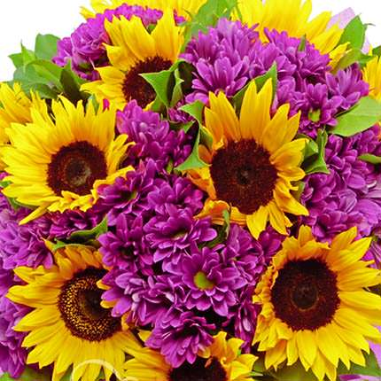 """Summer bouquet """"Life is good!"""" - order with delivery"""