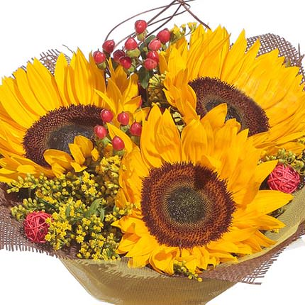 "Bright bouquet ""Smiley"" - order with delivery"