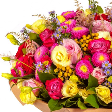 "Bouquet ""Colors of autumn"" - order with delivery"
